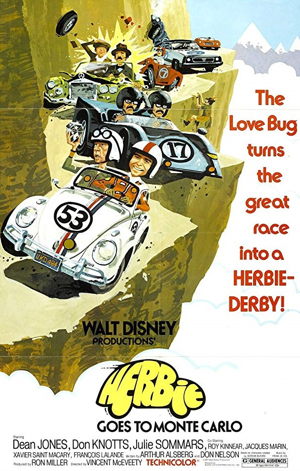 Poster Of Herbie Goes to Monte Carlo 1977 In Hindi Bluray 720P Free Download