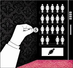 prostitutas dibujo prostitutas en la palma