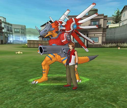 logo Digimon Masters Online jogos