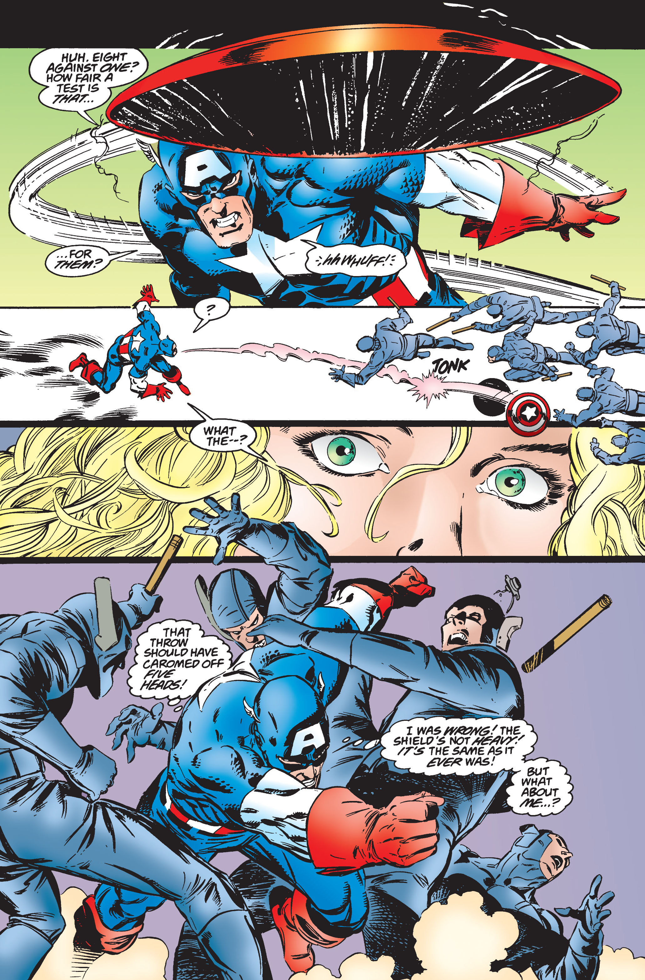 Captain America (1968) Issue #445 #399 - English 11