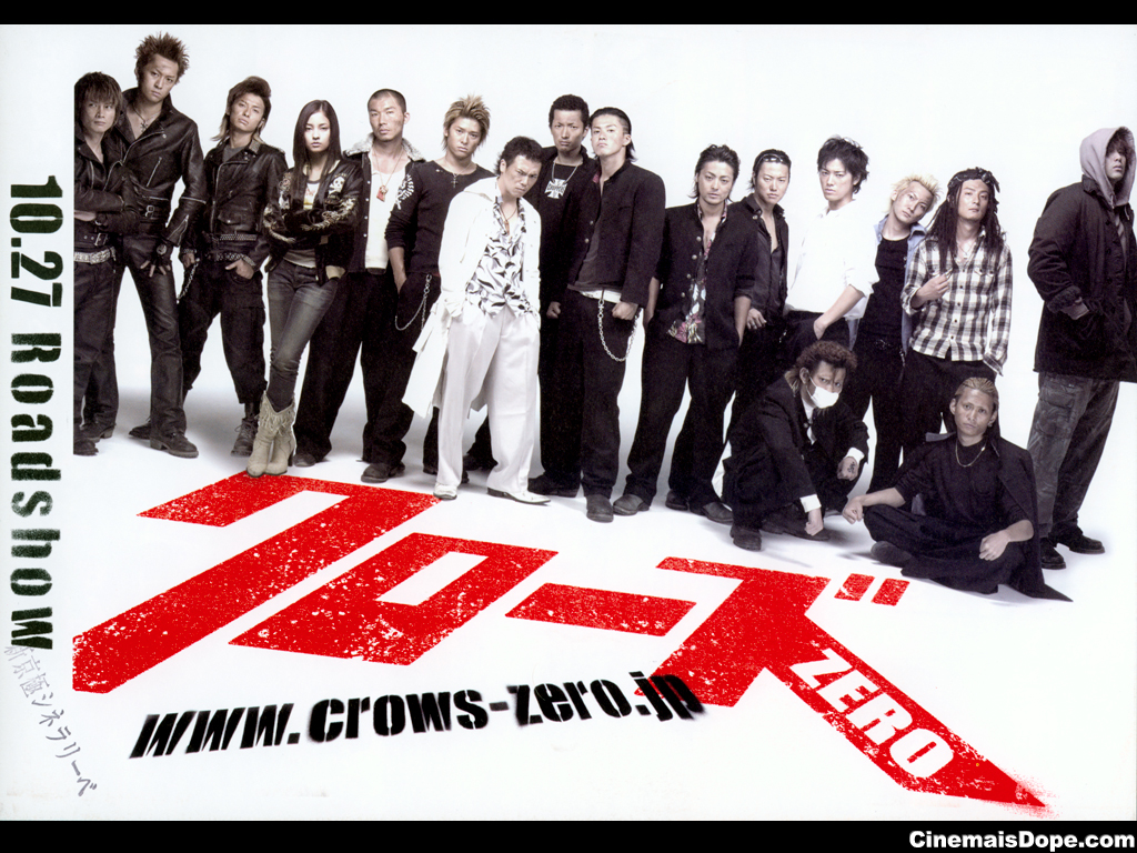 Crows Zero2 Genji http://tox-wallpaper.blogspot.com/2011/12/crows-zero-2-1680x1050.html