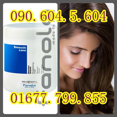 Hấp dầu Fanola dành cho tóc duỗi dưỡng nếp tóc thẳng Fanola Smooth Care