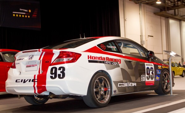 Sport Car Garage Honda Civic Si Coupe Compass 360 Racing Hpd Sema