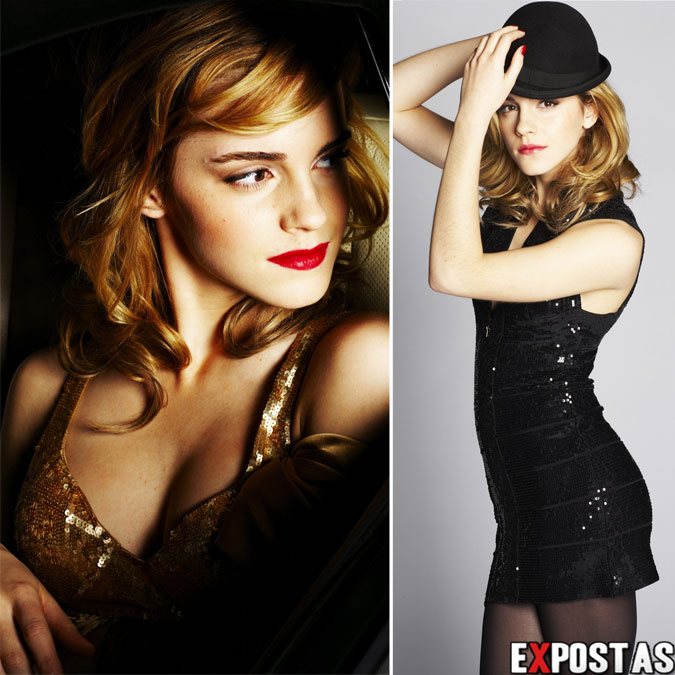 Emma Watson: Sean Cook Photoshoot For The Daily Mail - 2009