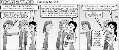 """Não, não consigo entender o conceito de """"falsa nerd"""". Eu já tentei."""