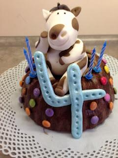 Geburtstagstorte, Fondanttorte, Torte, Geburtstag, Pferd