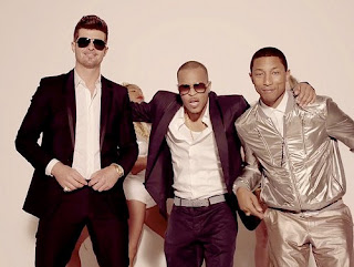 Robin Thicke, Blurred Lines, T.I., Pharrell, bad pop music