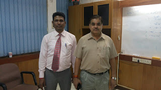 Mr. Narender Sharma with Mr. Avadhesh K Mishra