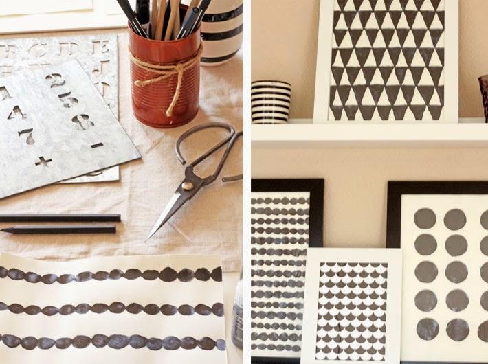 Amalie loves Denmark Bilder mit grafischen Mustern