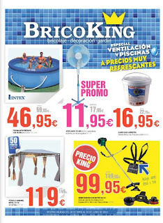 Bricoking catalogo de oferta junio de 2013 for Piscinas bricoking