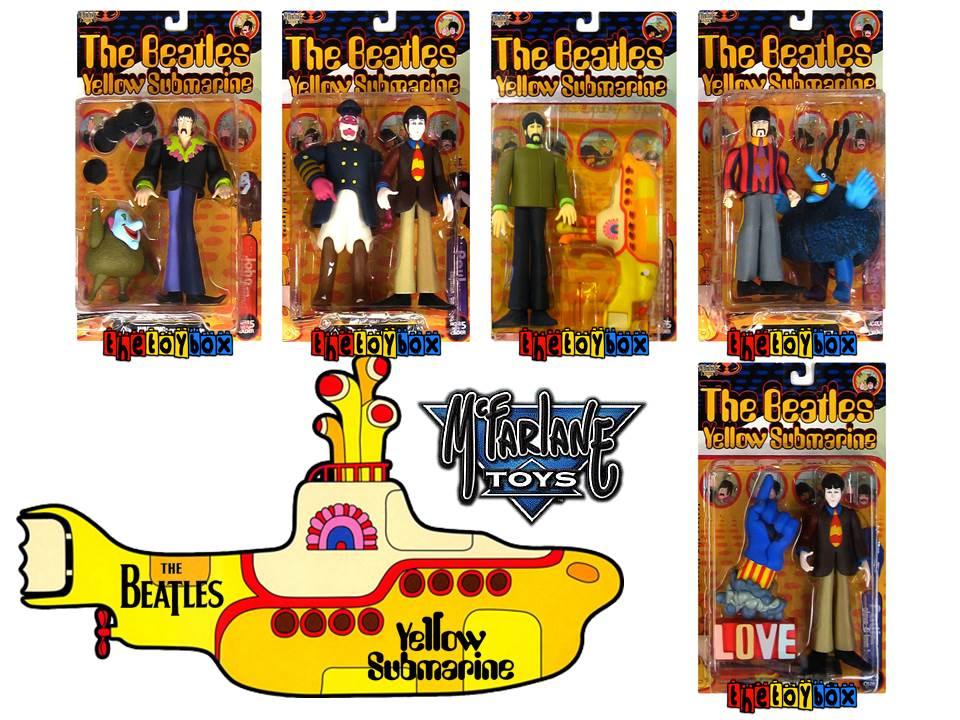 Beatles Yellow Submarine Toys 37
