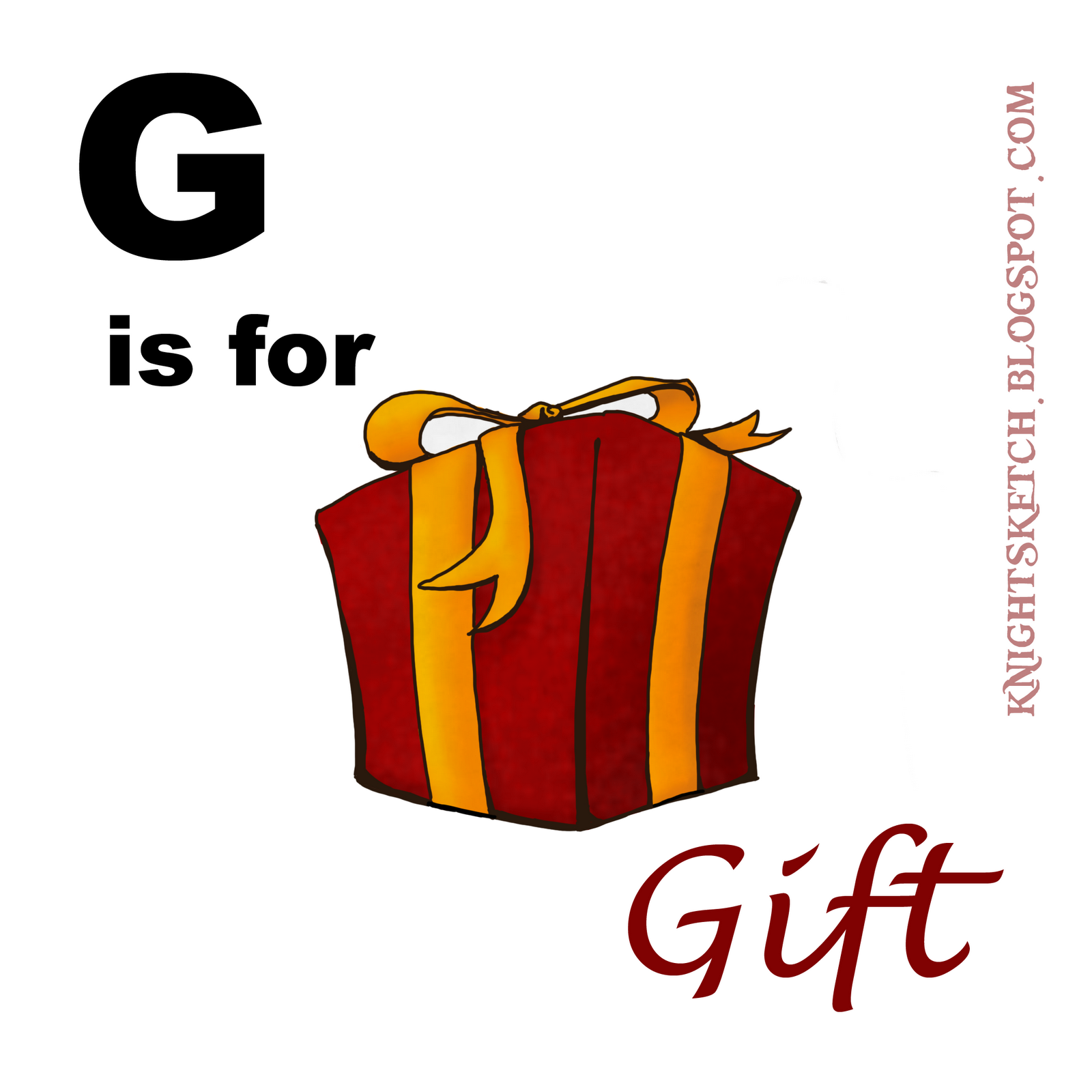 Http Knightsketch Blogspot Com 2012 01 G Is For Gift Html
