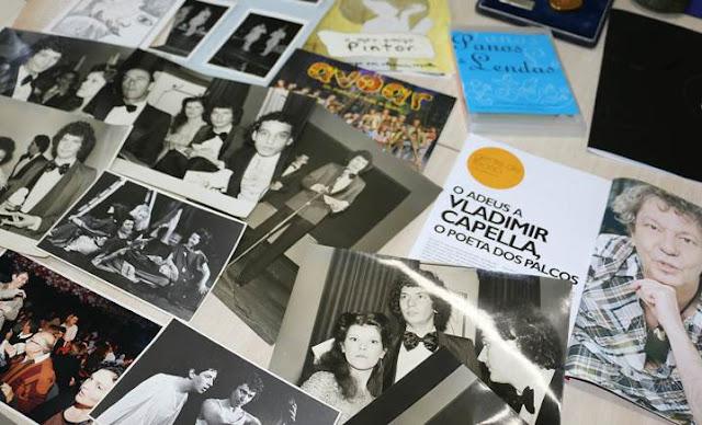 Alguns dos itens de Vladimir Capella doados para a Fundação Pró-Memória (Talita Scotá Salvatori/FPMSCS)