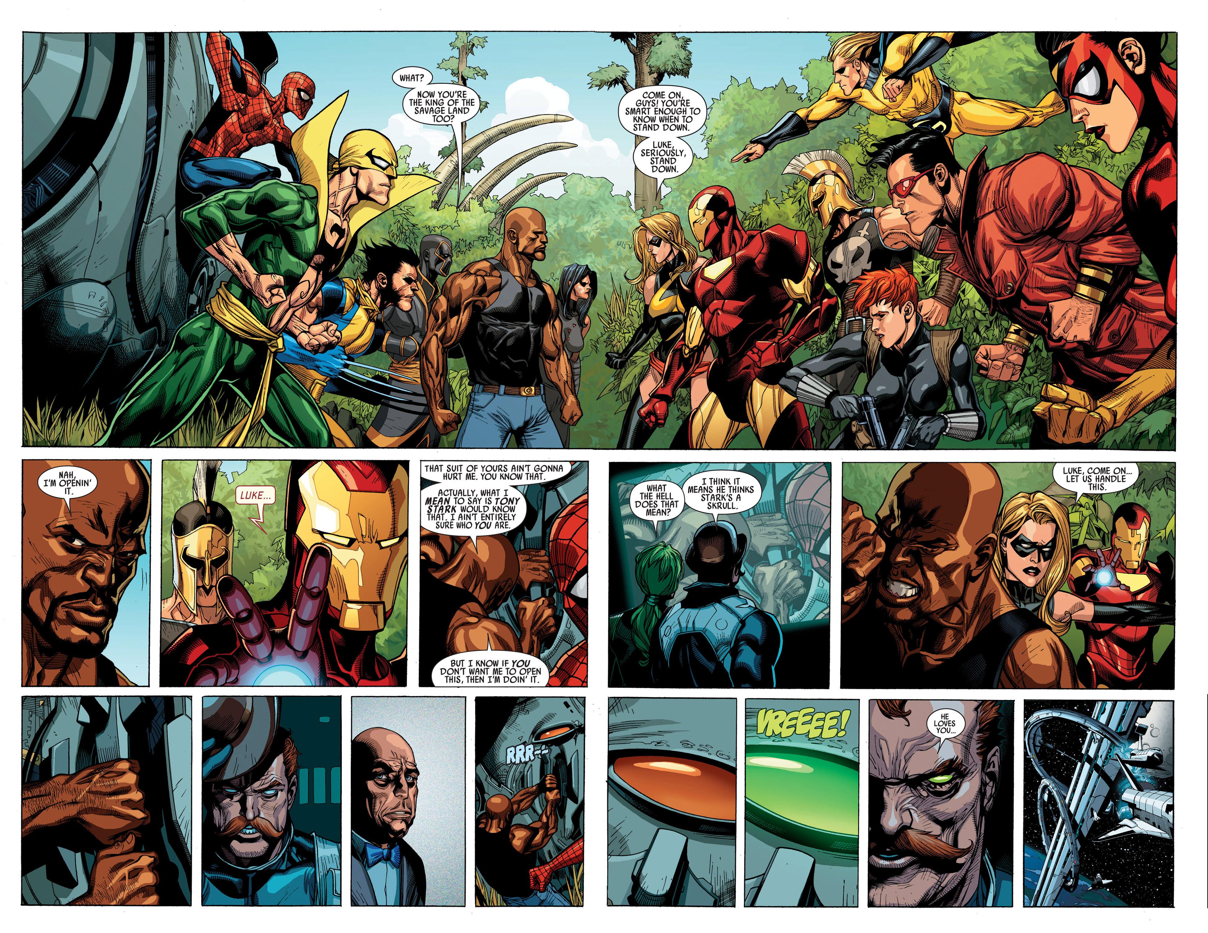 Read online Secret Invasion comic -  Issue #1 - 18