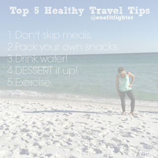 travel tips, healthy travel tips, no gym, on track travel