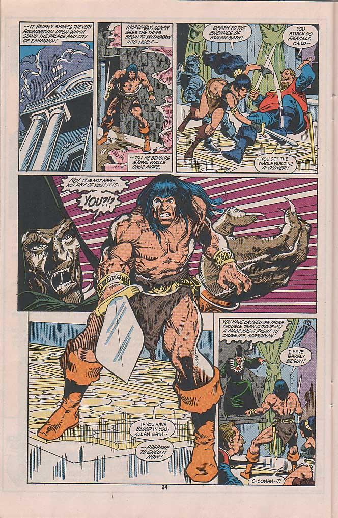 Conan the Barbarian (1970) Issue #253 #265 - English 19