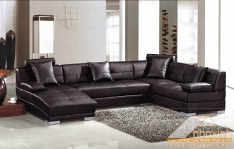 Giới thiệu sản phẩm Sofa da chất lượng cao tại Nhà Xinh