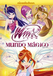O Clube das Winx: Mundo Mágico   DVDRip AVI + RMVB Dublado
