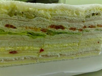 Sandwiches de miga Simples y Triples