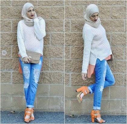 Ingin Padu Padan Celana Jeans? Hijabers Perlu Perhatikan Hal ini