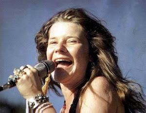 Janis, en uno de sus extraños momentos de alegría