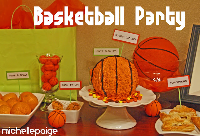 March Madness Basketball Party