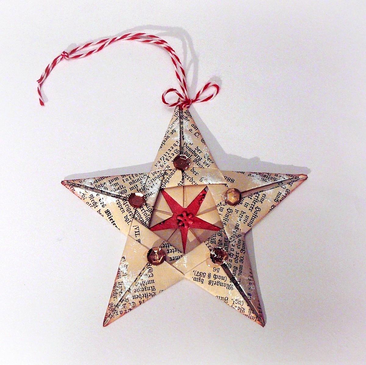 gwiazdka origami