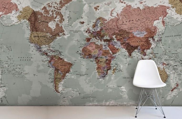 map mural