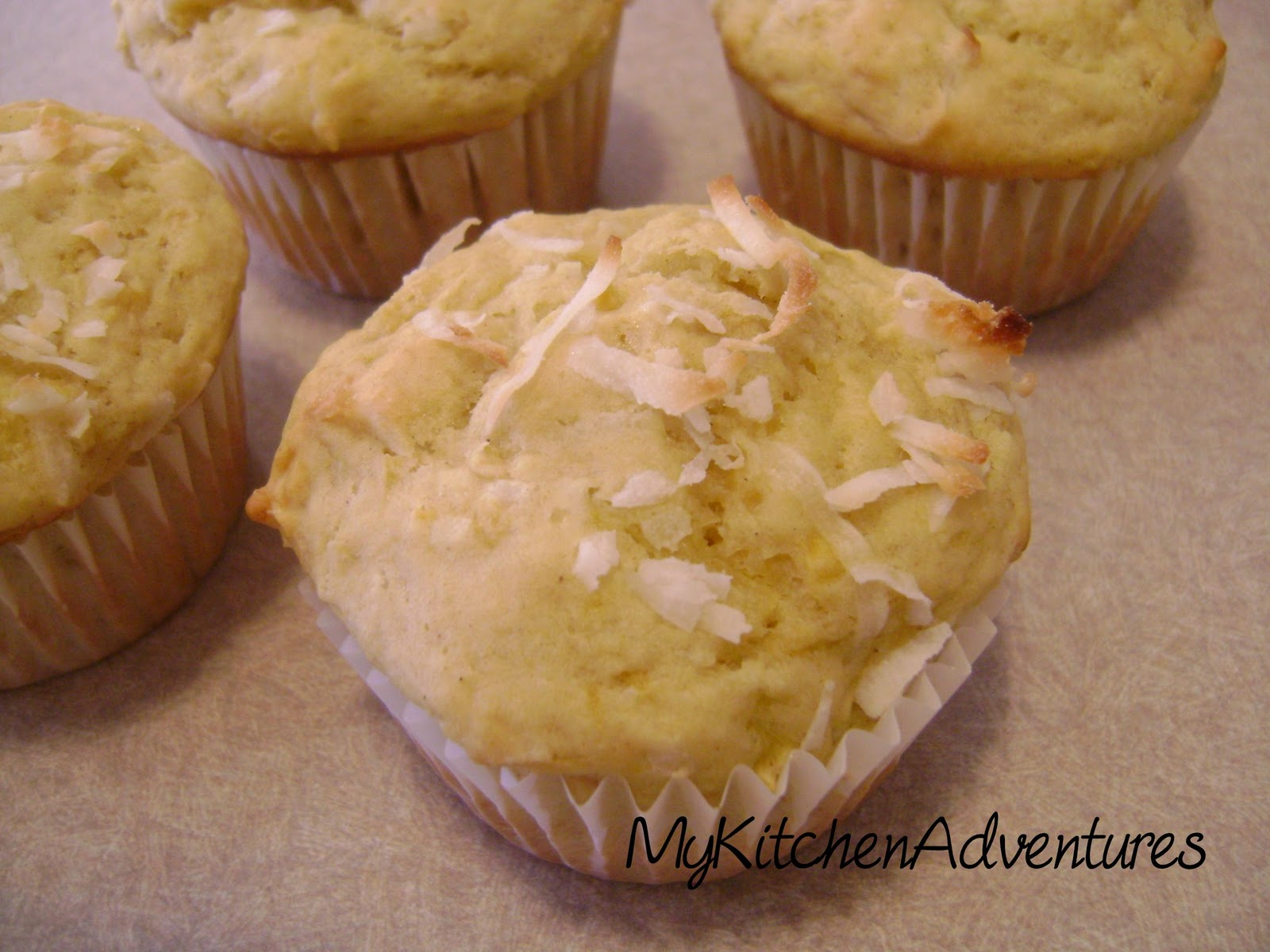 ... are soft and sweet. They make a great addition to this muffin recipe