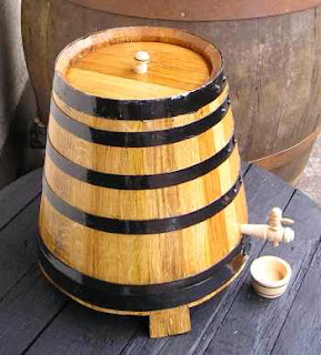 barrel beer model ember terbalik