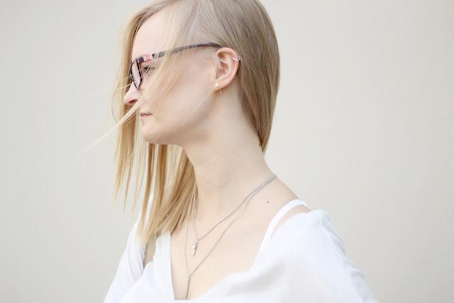 silver ear jewelry
