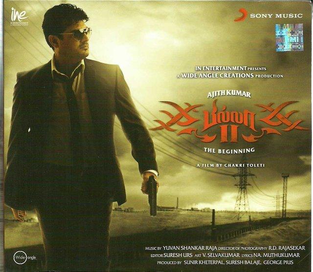 Hi quality Tamil MP3 songs billa 2