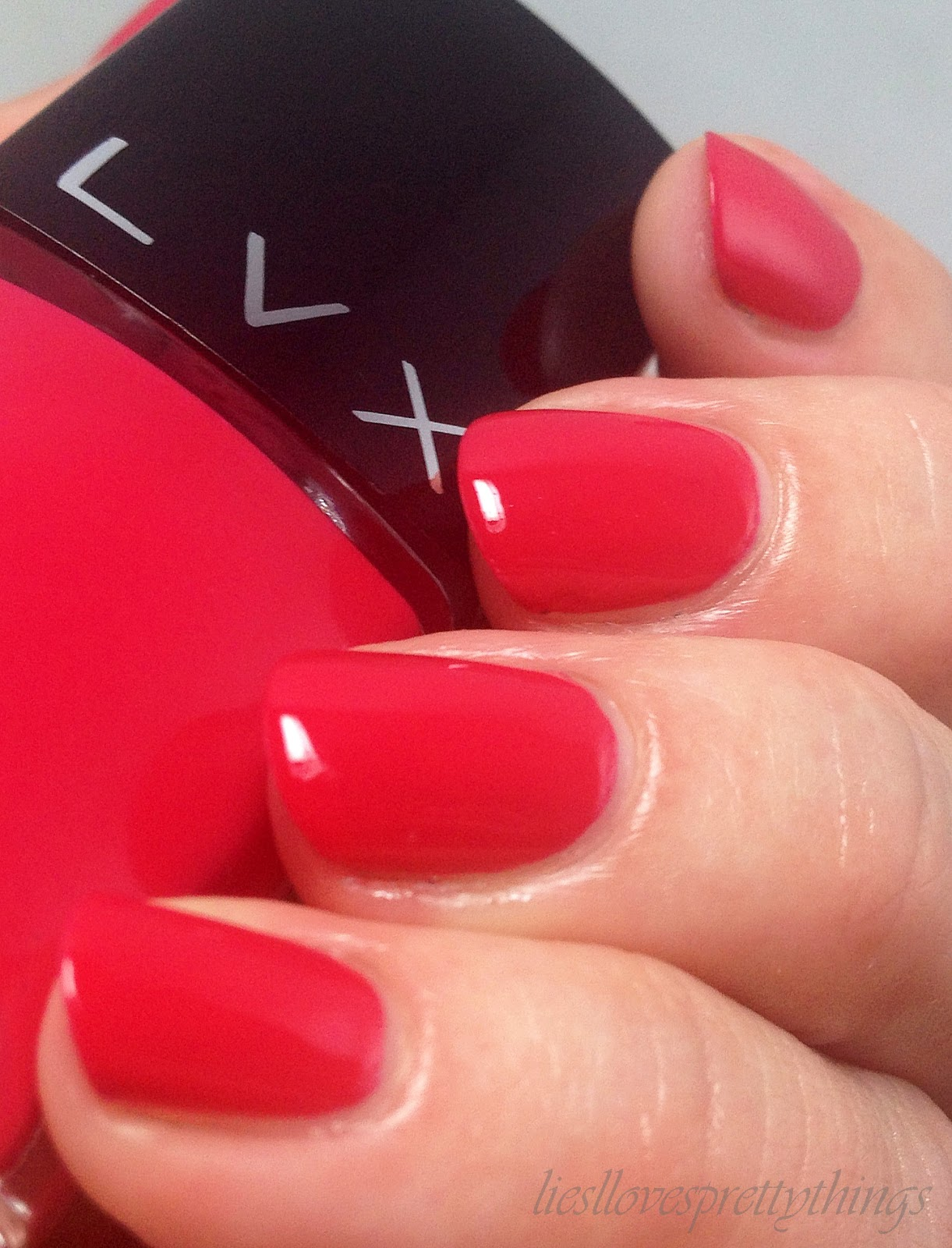 LVX Cerise fall 2014 swatch and review