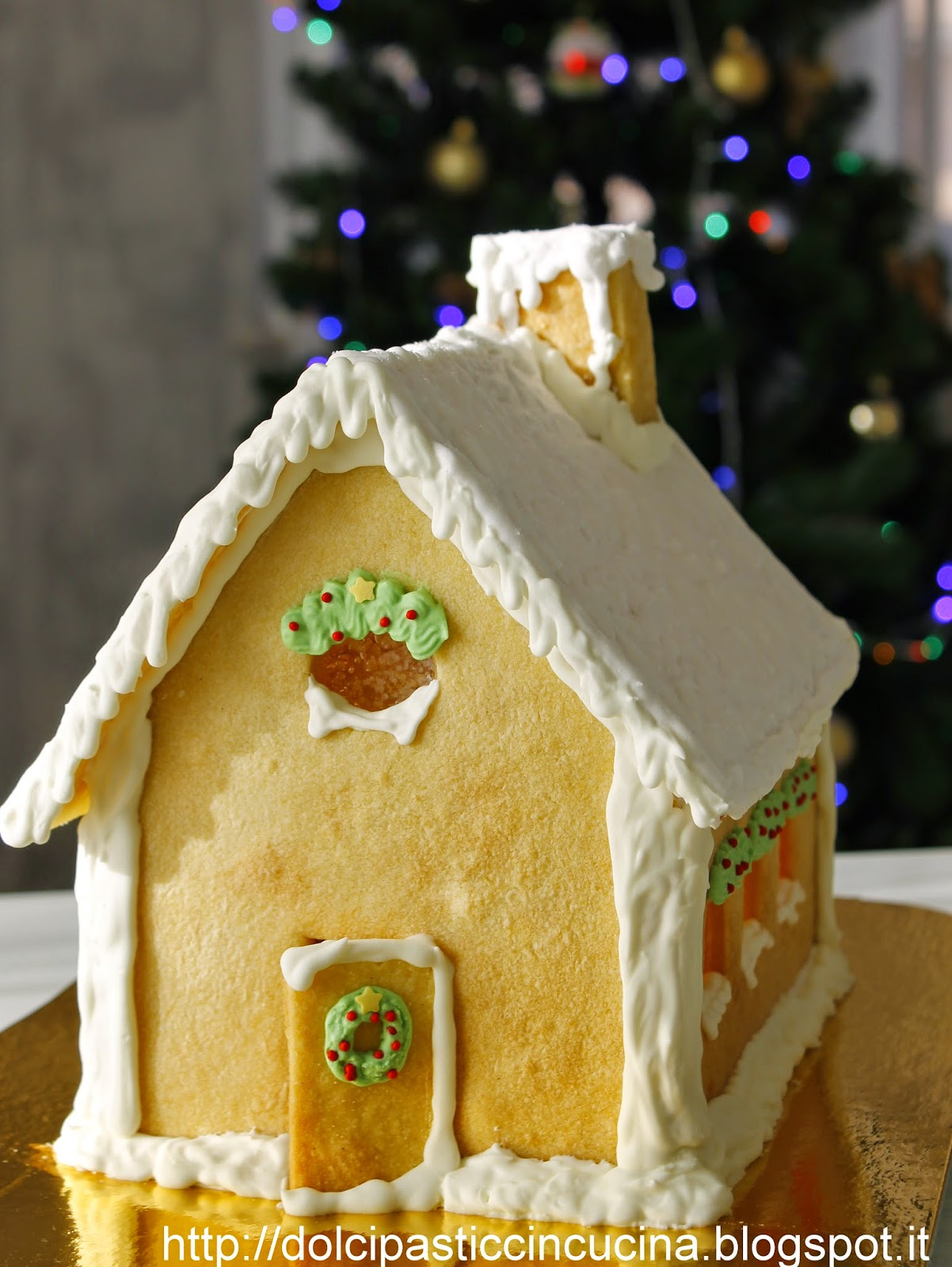 gingerbread house all'italiana