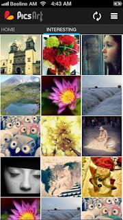 تطيبق مجانى رائع لتحرير وتعديل وإنشاء الصور للاندرويد والايفون والايباد والايبود تاتش PicsArt - Photo Studio 2.9.3 APK-IPA free