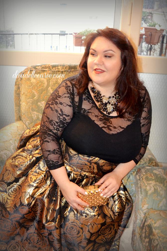 outfit lookbook capodanno plus size e curvy jobri H&M