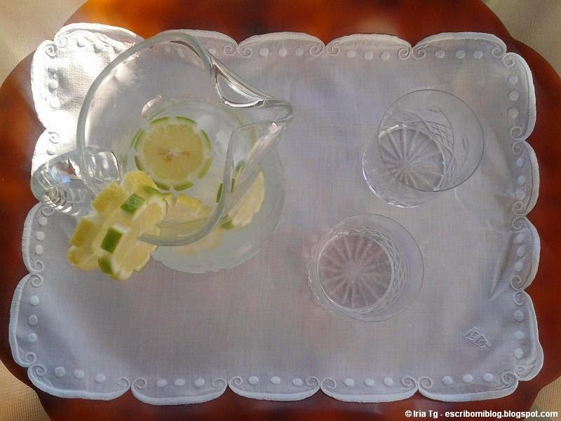 Bandeja para tomar una limonada