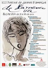"""VIII FESTIVAL de Jóvenes Flamencos  """"DE FLAMENCO VA"""" SUCINA-MURCIA DEL 15 AL 20 DE JULIO 2014"""