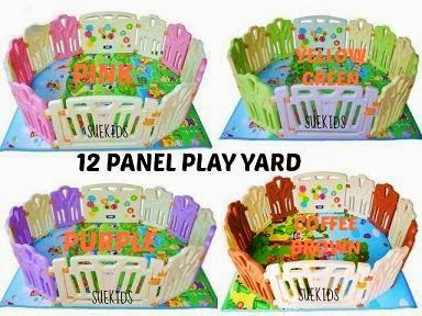 12 PANEL KIDS PLAY YARD