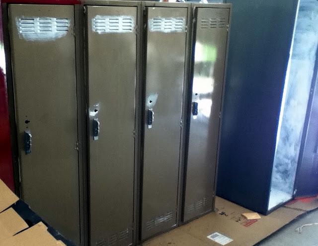 Metal Locker Room Lockers