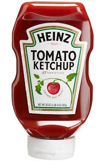 Heinz Top-Down Ketchup Bottle