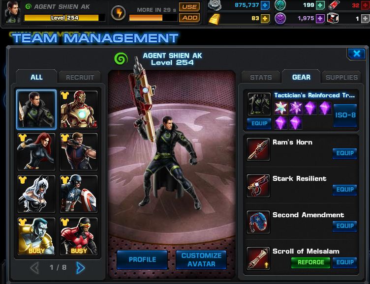 Avengers Alliance IOS Hack (All Version) Free Download August Update]