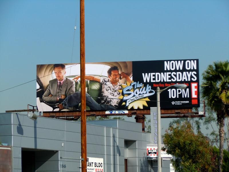 The Soup E! TV billboard