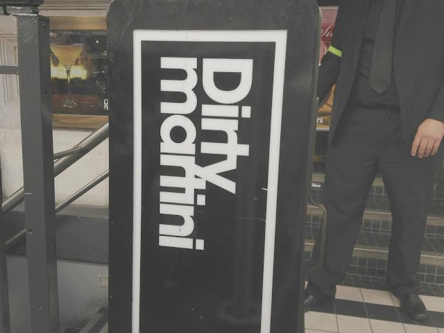Dirty martini bar review
