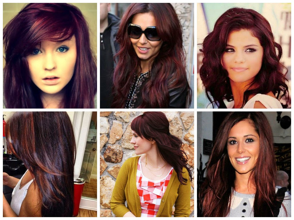 ombre and burgundy hair color concepts dark burgundy hair color