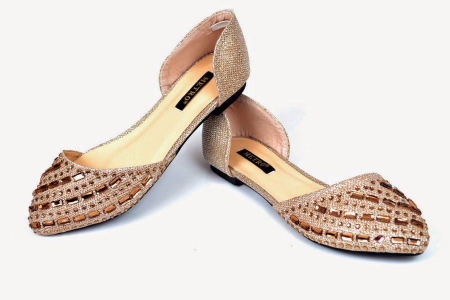 Metro Shoes Eid Ul Azha Collection 2014 for Women