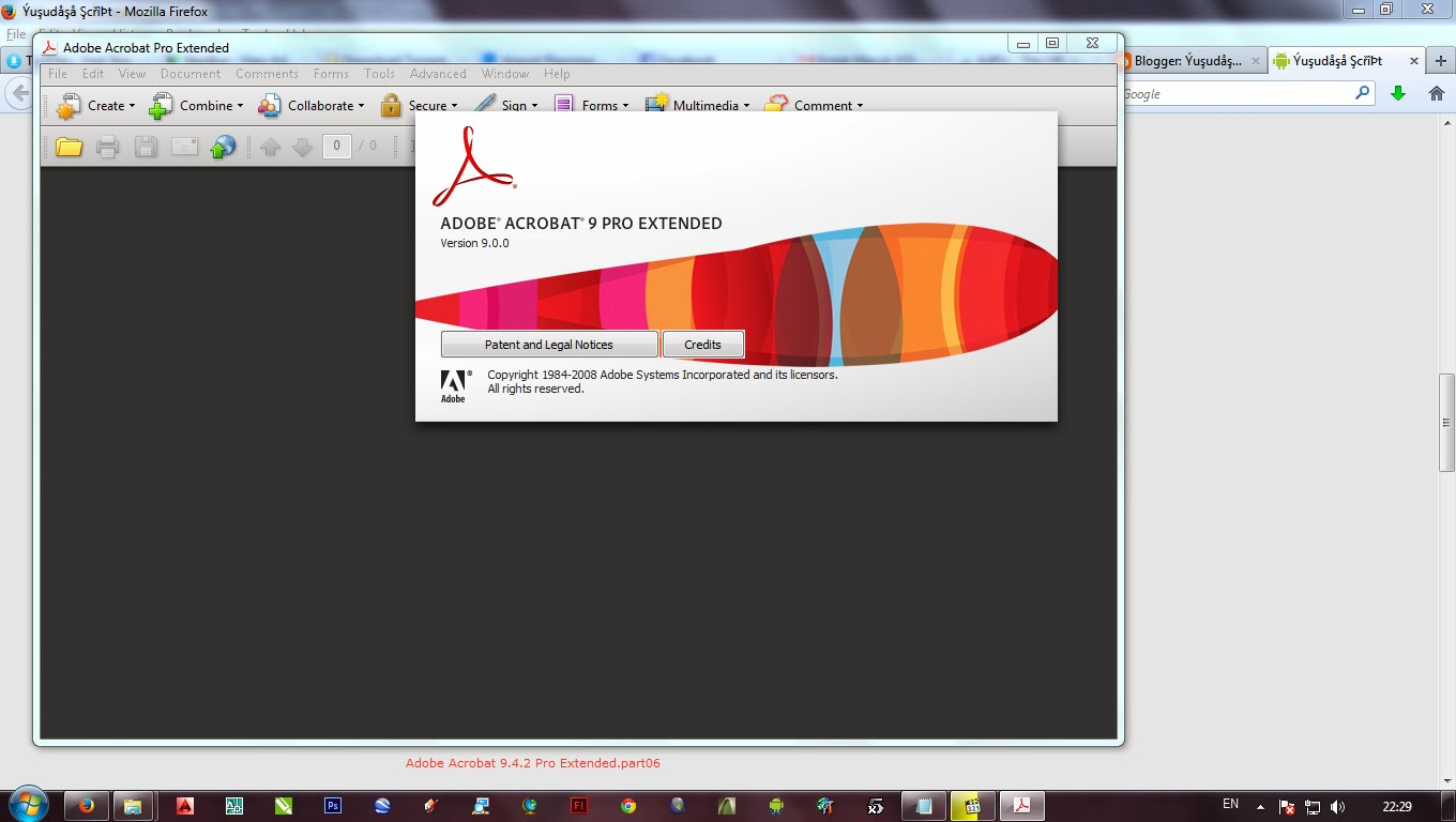 Adobe acrobat 9 pro extended italiano crack only
