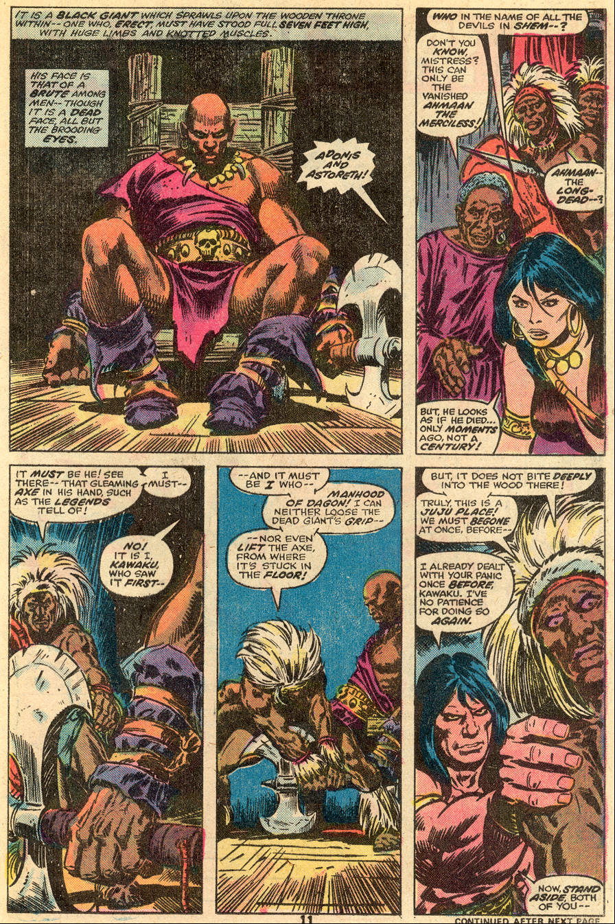 Conan the Barbarian (1970) Issue #65 #77 - English 8