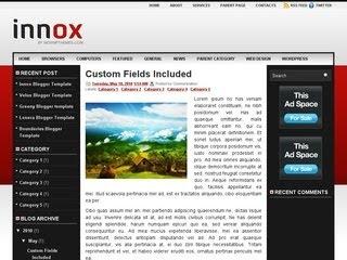 Innox Blogger Template