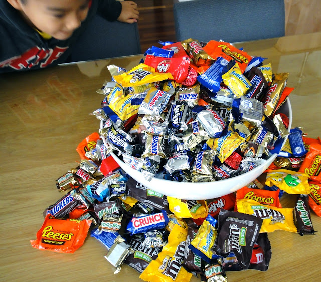 All That Candy…